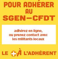 Adhérer au Sgen-CFDT