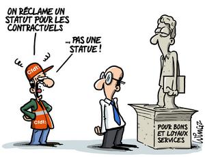 Statut des contractuels