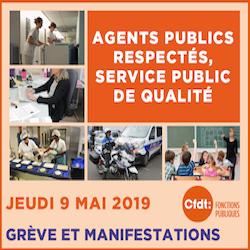 Agents publics respectés, service public de qualité !