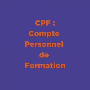Compte Personnel de Formation dans l'Éduc Nat