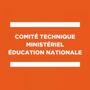 CTMEN du 8 janvier 2020 : déclaration liminaire