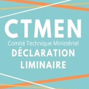 CTMEN du 20 mai 2020