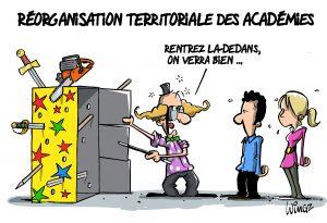 Fusion des académies : le gouvernement a tranché